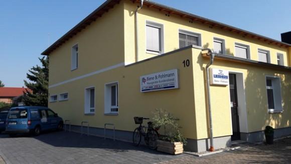 Anfahrt Biene & Pohlmann GmbH Spezialisten für Warmwasser, Klima und Raumheizungen